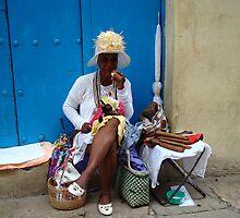 Cuban Cigar Lady! by Sue Ratcliffe