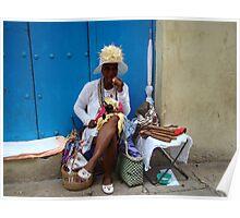 Cuban Cigar Lady! Poster