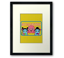 "Fruity Oaty Bar! ""NOT MANDATORY"" Shirt (Firefly/Serenity) Framed Print"