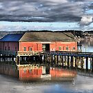 Coupeville Wharf by Rick Lawler