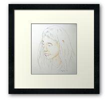 Emily January 2011 Framed Print