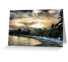 Penn Cove Fog Greeting Card
