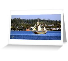 Tall Ships in Coupeville Greeting Card
