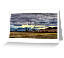 Ebey Prairie Sunset Greeting Card