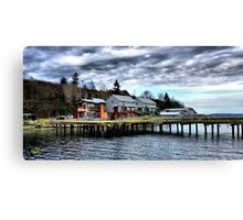 Langley Marina One Canvas Print