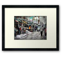 9th & Washington ~ Italian Market Framed Print