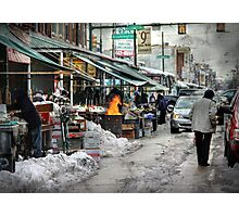 9th & Washington ~ Italian Market Photographic Print