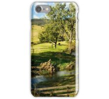 Down By The Creek iPhone Case/Skin