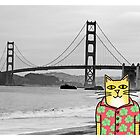 Claude Visits the Golden Gate Bridge by Daogreer Earth Works
