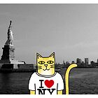 Claude Visits the Statue of Liberty by Daogreer Earth Works