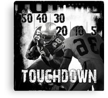 50..30..10..Touchdown! Canvas Print