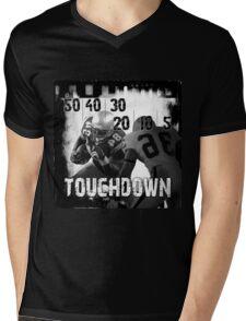 50..30..10..Touchdown! Mens V-Neck T-Shirt