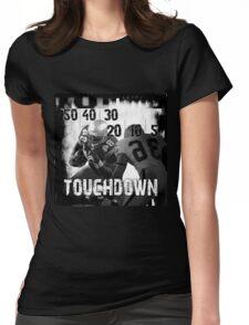50..30..10..Touchdown! Womens Fitted T-Shirt