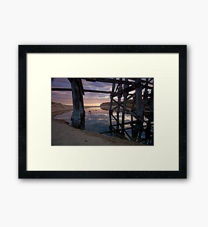 Kilcunda Dusk Framed Print