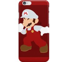 Mario (Fire) - Super Smash Bros. iPhone Case/Skin