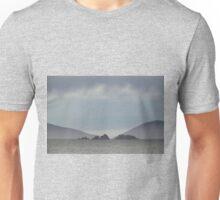 Approaching Carcass Island in The Falklands Unisex T-Shirt