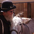 Gold Miner and his Donkey by the57man