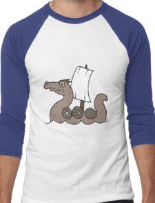 Ship shape Men's Baseball ¾ T-Shirt