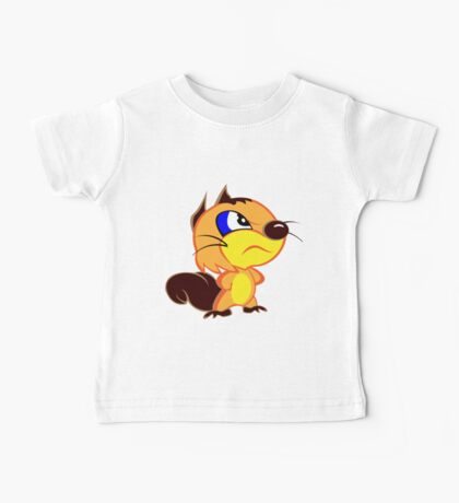 Angry Squirrel Baby Tee