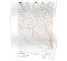 USGS Topo Map Oregon McIntyre Creek 20110822 TM Poster
