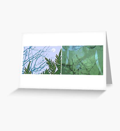 Amanda Watson-Will's 'Hope (diptych)' Greeting Card