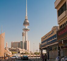 Lunchtime in Kuwait city by NicoleBPhotos