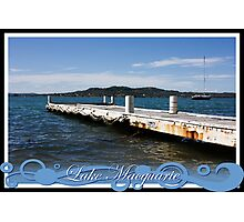 Private Jetty Photographic Print