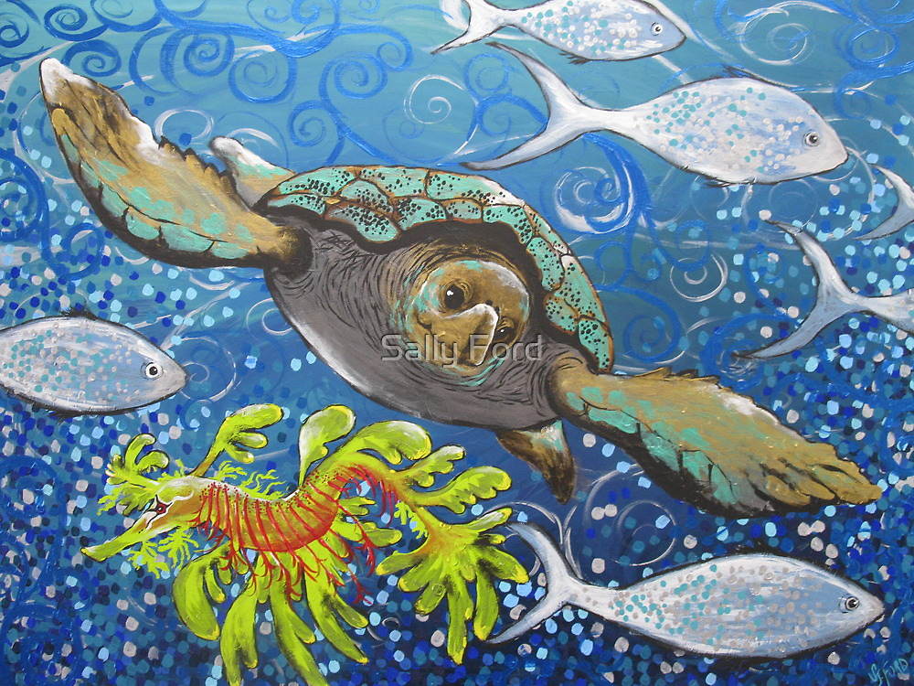 Tropic Blue by Sally Ford