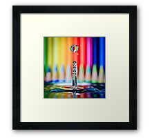 ...the pencil sharpener... Framed Print