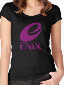 ENIX Logo Purple Women's Fitted Scoop T-Shirt