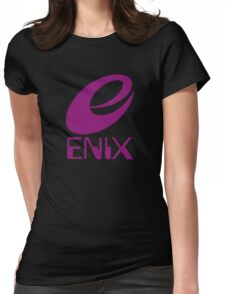 ENIX Logo Purple Womens Fitted T-Shirt