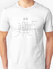 Beijing Subway Map T-Shirt