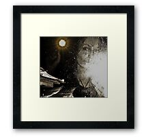Being Born  Framed Print