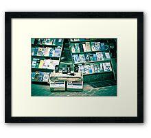 Second hand Framed Print
