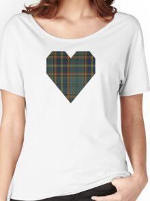 00299 Antrim County District Tartan  Women's Relaxed Fit T-Shirt