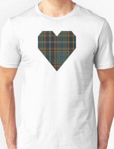00299 Antrim County District Tartan  Unisex T-Shirt