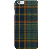 00299 Antrim County District Tartan  iPhone Case/Skin