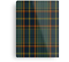 00299 Antrim County District Tartan  Metal Print