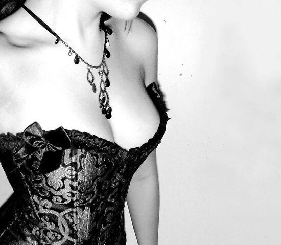 """A woman in a corset is a lie, a falsehood, a fiction. But for us, this fiction is better than the reality"" by EdenF"