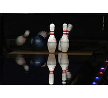 Bowled over Photographic Print