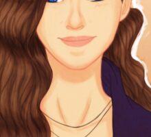 Anna Portrait Sticker