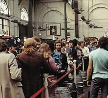CG10 Covent Garden Beer Festival, London, 1975. by David A. L. Davies