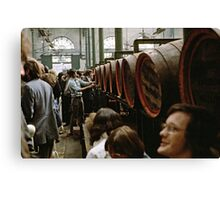 CG8 Covent Garden Beer Festival, London, 1975. Canvas Print