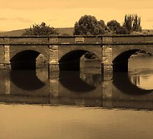 Ross Brridge, Heritage Highway Tasmania by harshcancerian