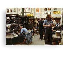 CG7 Covent Garden Beer Festival, London, 1975. Canvas Print