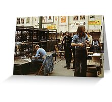 CG7 Covent Garden Beer Festival, London, 1975. Greeting Card