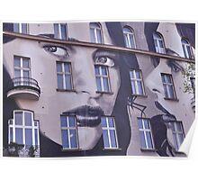 Building Street Art - Bülowstraße, Berlin Poster