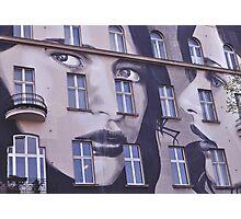 Building Street Art - Bülowstraße, Berlin Photographic Print
