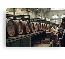 CG4 Covent Garden Beer Festival, London, 1975. Canvas Print