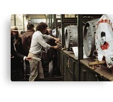 CG2 Covent Garden Beer Festival, London, 1975. Canvas Print